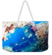 Coral Archways Weekender Tote Bag