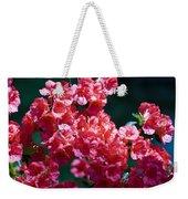 Coral Azaleas Weekender Tote Bag