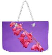 Coral Bells Weekender Tote Bag