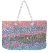 Coral Blues  Weekender Tote Bag