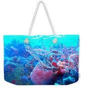 Coral Candy Weekender Tote Bag