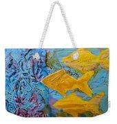 Coral Chorale Weekender Tote Bag