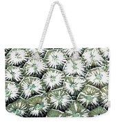 Coral Close Up  Weekender Tote Bag by Lanjee Chee