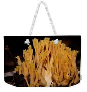 Coral Fungi In The Forest Weekender Tote Bag