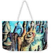 Coral Island, Stone City Of Alien Civilization Weekender Tote Bag