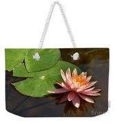 Coral Lily 6 Weekender Tote Bag