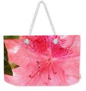 Coral Pink Azalea Goodness Weekender Tote Bag