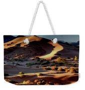 Coral Pink Sand Dunes Dawn Weekender Tote Bag
