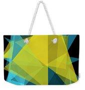 Coral Reef Polygon Pattern Weekender Tote Bag