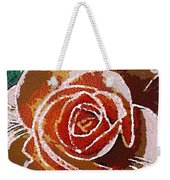 Coral Rose In The Mix Weekender Tote Bag