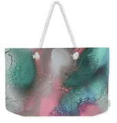 Coral, Turquoise, Teal Weekender Tote Bag by Julia Fine Art