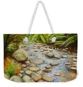 Coranderrk Creek Yarra Ranges Weekender Tote Bag