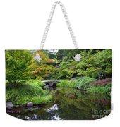 Corbel Arch Bridge Japanese Garden Maymont I Weekender Tote Bag