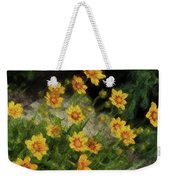 Coreopsis Tickseed Weekender Tote Bag