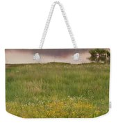 Corepsis Blooming At The Quanah Parker Lake Weekender Tote Bag