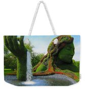 Corey Rockafeler - Mother Nature Fountain Weekender Tote Bag