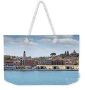 Corfu Town Port With Warehouses Weekender Tote Bag