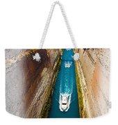 Corinth Canal  Weekender Tote Bag