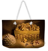 Cork And Basket 3 Weekender Tote Bag