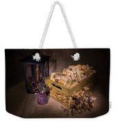 Cork Basket Candle Lamp Weekender Tote Bag