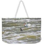Cormorant And Pelican Weekender Tote Bag