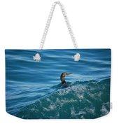 Cormorant In The Water Weekender Tote Bag