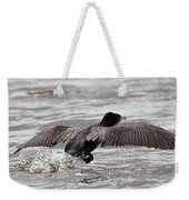 Cormorant Taking To The Air Weekender Tote Bag