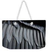Cormorant Wing Feathers Abstract Weekender Tote Bag