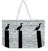 Cormorants Port Jefferson New York Weekender Tote Bag