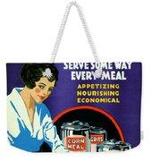 Corn 1918 Weekender Tote Bag