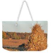 Corn At Harvest Weekender Tote Bag