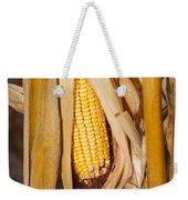 Corn Cobb On Stalk Weekender Tote Bag