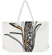 corn- contemporary art by Linda Woods Weekender Tote Bag