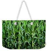 Corn Field's First Row Weekender Tote Bag
