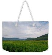 Corn Fields, Upstate New York Weekender Tote Bag