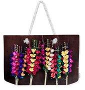 Corn Husk Flowers Weekender Tote Bag