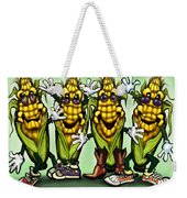 Corn Party Weekender Tote Bag