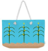 Corn Rows Weekender Tote Bag