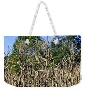 Corn Stalks Drying Weekender Tote Bag