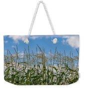 Corn Tassels In The Sky Weekender Tote Bag