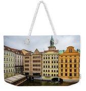 Corner Buildings In Prague Weekender Tote Bag