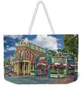 Corner Cafe Main Street Disneyland 01 Weekender Tote Bag