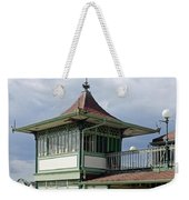 Corner Detail Of The Pavilion - Ryde Weekender Tote Bag