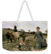 Corner Of A Vineyard Weekender Tote Bag by Edouard Debat Ponsan