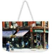 Corner Of Columbia And Pearl Albany Ny Weekender Tote Bag