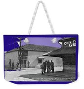 Corner Of Meyer And Convent Barrio Burton Frasher Photo Tucson Arizona 1938 Color Added 2016 Weekender Tote Bag