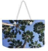 Corner Palms Weekender Tote Bag