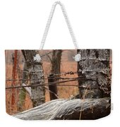 Corner Post Weekender Tote Bag