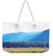 Cornfield On Bright Autumn Day 3 Weekender Tote Bag