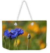 Cornflowers -2- Weekender Tote Bag by Issabild -